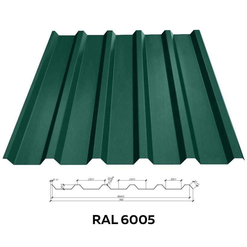 Профнастил стеновой RFS-15 (1170/1125мм)