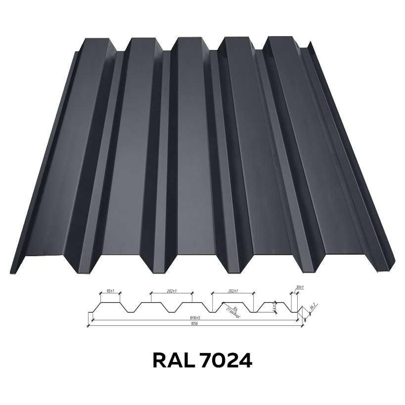 Стеновой профнастил RFS-45 (глянцевый)