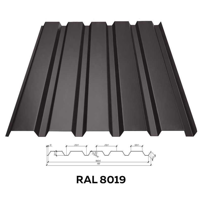 Стеновой профнастил RFS-35 (глянцевый)
