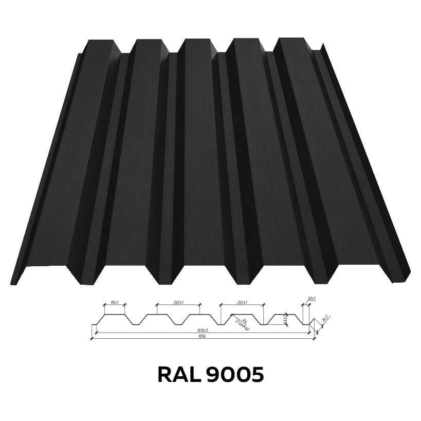 Стеновой профнастил RFS-45 (матовый)