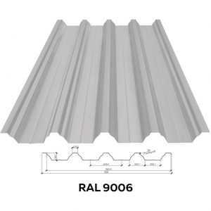 Несущий профнастил стеновой RFS-45 (1056/1010мм)
