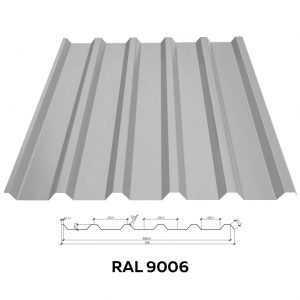 Профнастил стеновой RFS-10 (1150/1089мм)