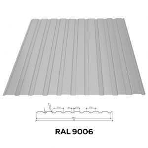 Профнастил стеновой RFS-8 (1000/960мм)