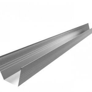 Желоб водосточный оцинкованный квадратный 60*80*60мм длина 2,0м Rooffix 1/10