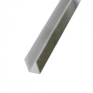 Планка П-образная 19*12*19мм, 2000мм RAL8017 коричневая Rooffix 1/20