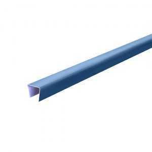 Планка П-образная 18,8*15*18,8мм, 2000мм RAL5005 светло- синяя Rooffix 1/20
