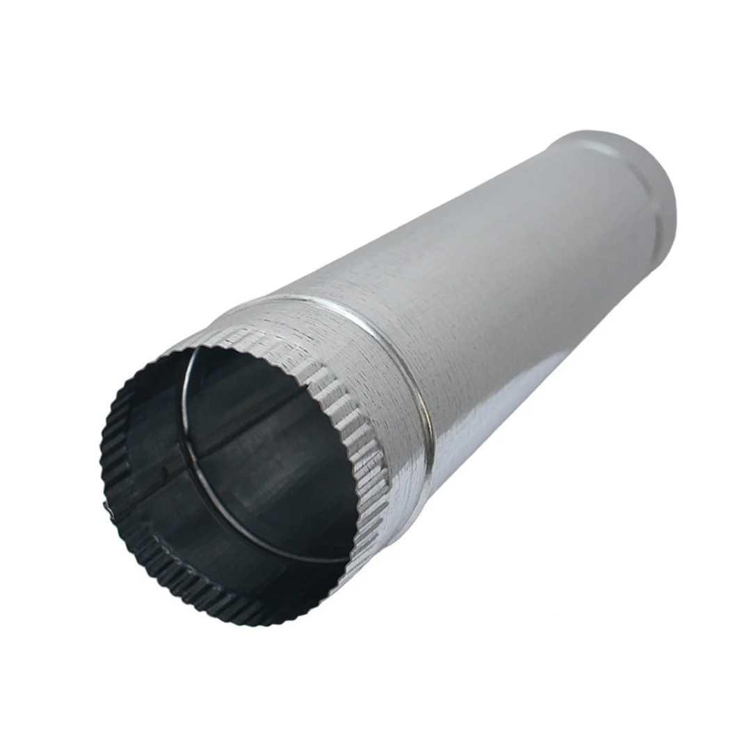 Труба оцинкованная Ø150мм, длина 1,0м Rooffix 1/1