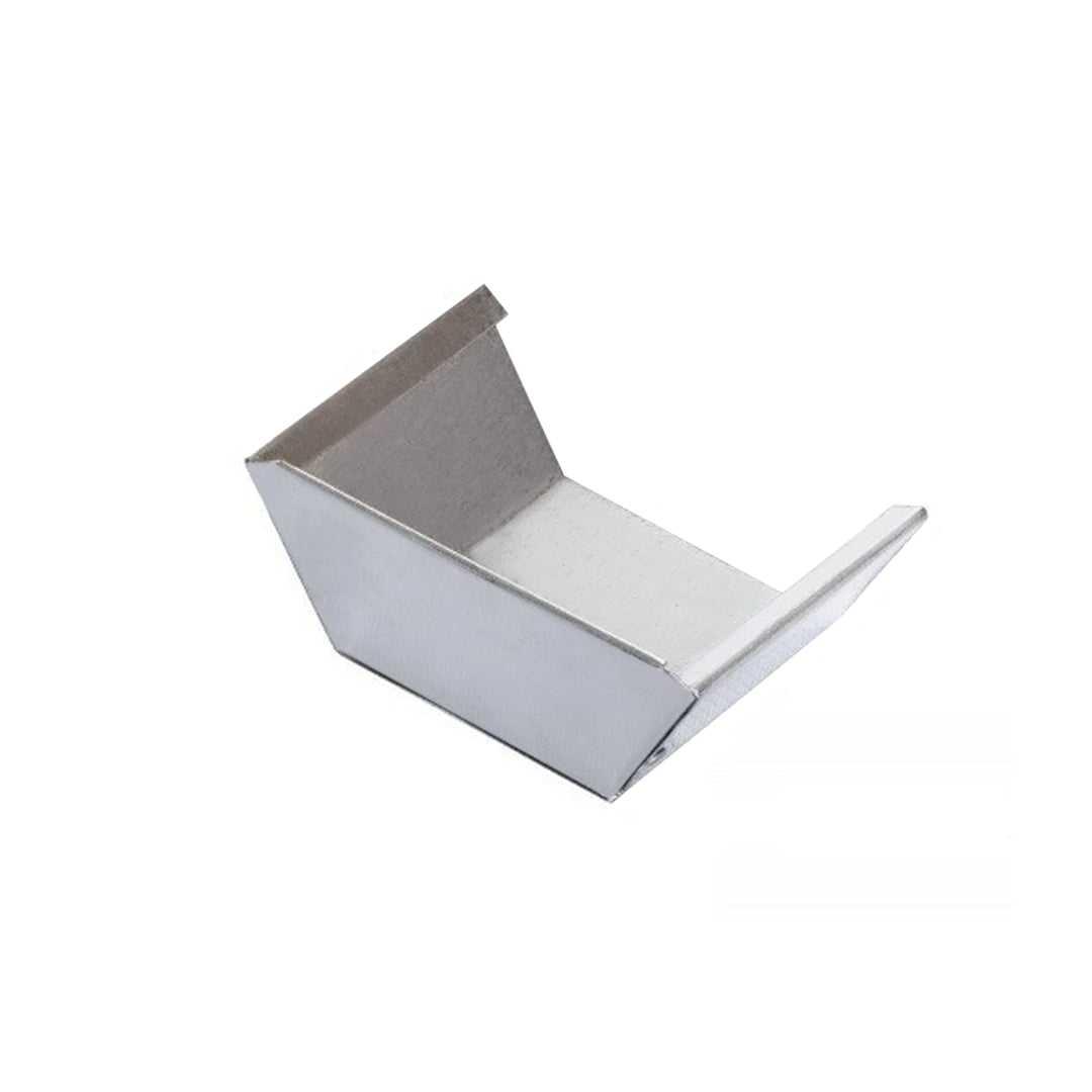Заглушка желоба квадратного 60*80*60мм оцинкована Rooffix 1/1